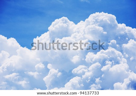 sky-clouds background. Stock photo ©