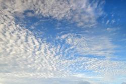 Sky clouds , bluesky background. Copy space