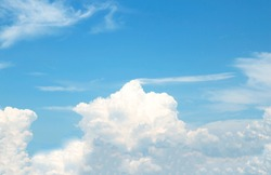 sky-clouds nature abstract background.beautiful Bright nature