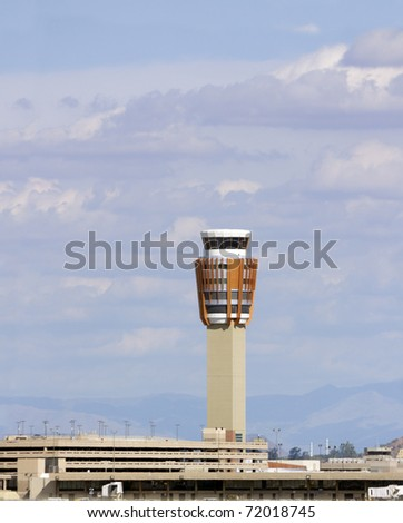 Sky Harbor airport traffic control center, Phoenix, AZ