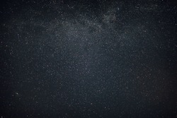 sky in the night with stars planets and comets