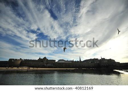 Sky Over Saint Malo