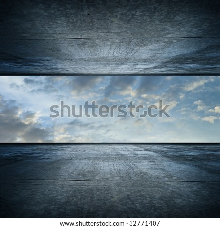 Sky room. square version