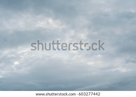 sky's overcast #603277442