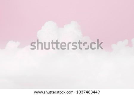 sky soft pink cloud, sky pastel pink color soft background, love valentine background, pink sky clear soft background
