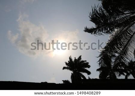 SKY/STREET LIGHT IN DAYLIGHT IN NIGERIA #1498408289