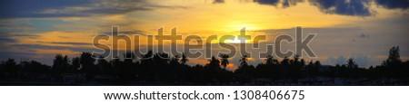 sky while twilight #1308406675
