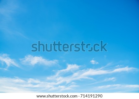 sky with cloud backgrounds - Shutterstock ID 714191290