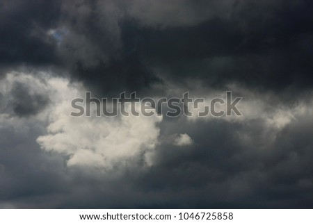 Sky with clouds #1046725858