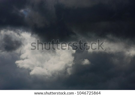 Sky with clouds #1046725864