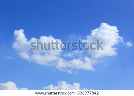 Sky with clouds #396977842