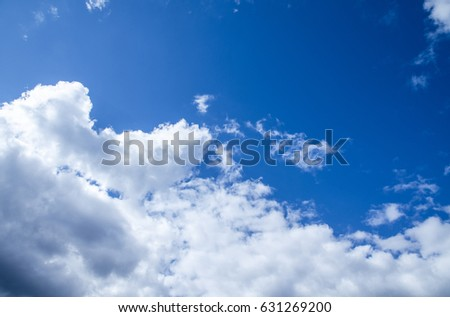 Sky with clouds - Shutterstock ID 631269200
