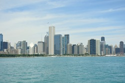 Skycraper of Chicago Skyline Panorama