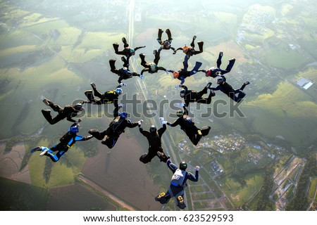 skydive formation