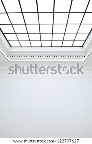 skylight at a gallery - nice background