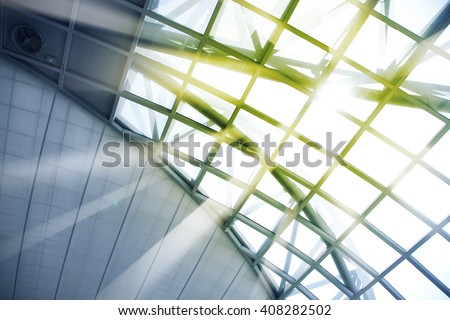 Skylight window - abstract architectural background #408282502