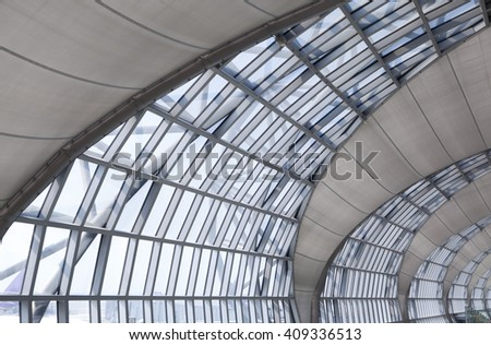 Skylight Window Abstract Architectural Background Stock