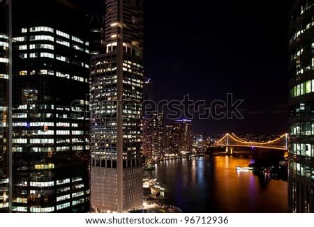 Skyline of Brisbane, Australia