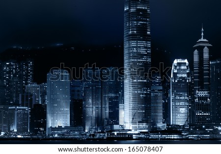 Skyline of City