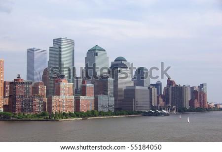 Skyline of lower Manhattan, New York City