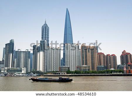 Skyline of Shanghai, China