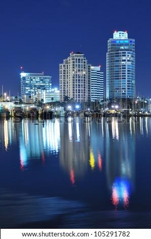 Skyline of St. Petersburg, Florida