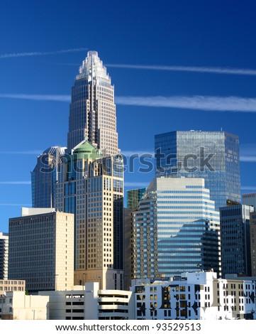 Skyline of Uptown Charlotte, North Carolina