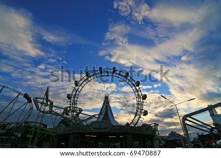Skyline Vienna Prater