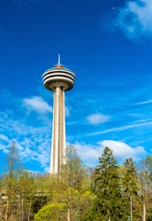 Skylon Tower at Niagara Falls - Ontario, Canada