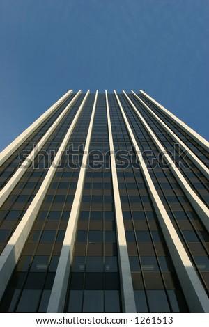 Skyscraper Against Blue Sky #1261513