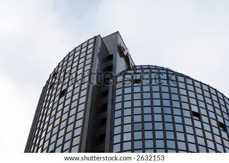 Skyscraper Building (Cibona Tower, Croatia) Stock Photo 2632153 ...