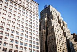 Skyscraper in Manhattan, New York City