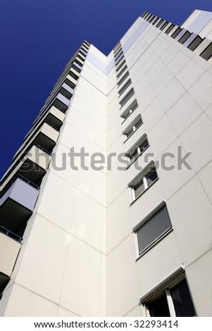 Skyscraper in the center of Stuttgart