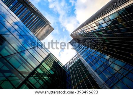 Skyscraper Office business building London #393496693