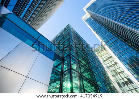 Skyscraper Office business building London #417054919