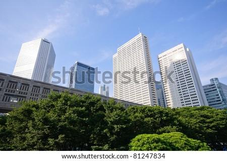 Skyscrapers at Nishi-Shinjuku - Tokyo, Japan