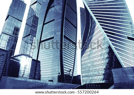 skyscrapers city business background #557200264