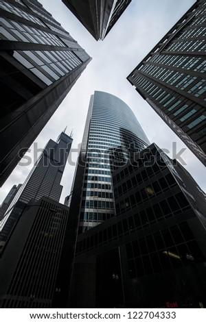 Skyscrapers in Chicago