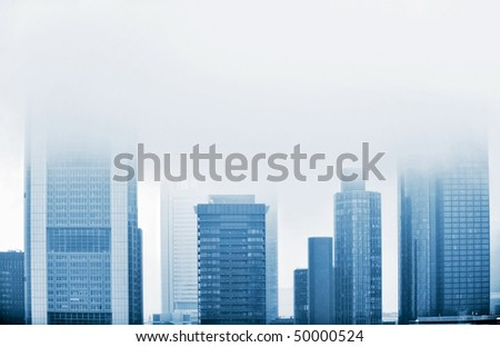 skyscrapers in Frankfurt am Main, Germany