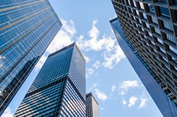 Skyscrapers in Manhattan, New York City