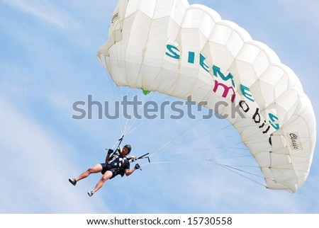 Sladetic Damir of Croatia participates in World Parachuting Championships in Style & Accuracy -  Lucenec Bolkovce, Slovak Republic on 26 July to 02 August 2008.