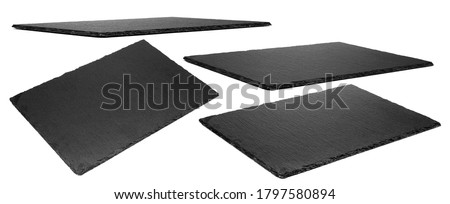 Rectangular Shaped Granite Stone Platter