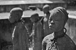 Slave Chambers in Zanzibar, Tanzania
