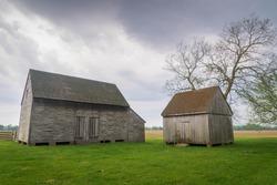 Slave quarters at John Dickinson's Plantation the