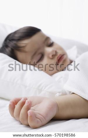 sleeping baby boy #570198586