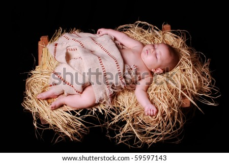 sleeping Christ Child