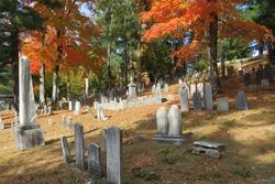 Sleepy Hollow Cemetery in Autumn; Concord, Massachusetts