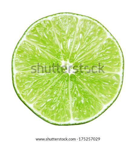 Slice of lime #175257029