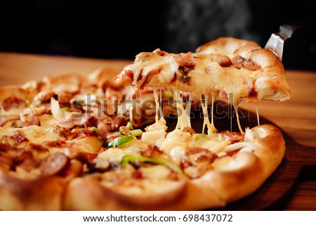 Delicious Pizza Slice cheese pizza images - ...
