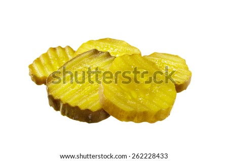 Shutterstock Sliced Pickles